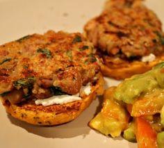 One Hot Stove: pinto mini bean burgers