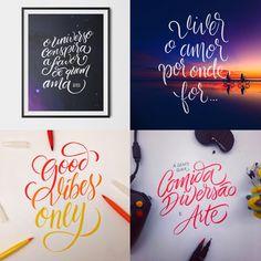 Lá no Studio - Alanddney Veríssimo - 10 designers brasileiros que criam incríveis letterings feitos à mão;