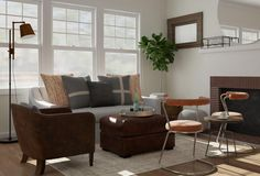 63 best Rustic Living Room images on Pinterest