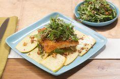 crispy cod amp summer squash with quinoa amp arugula salad visit https ...