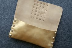 DIY Leather Pouch Pattern