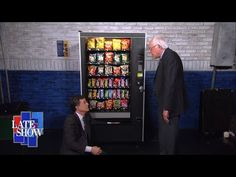 Bernie Sanders Teaches Stephen Never To Give Up  https://www.pinterest.com/keymail22/ and https://www.youtube.com/user/Keymail21/about