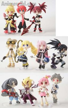Disgaea 2: Chaos at the Collesseum Palm Scenery Trading Figures (Display of 12) (Figures)