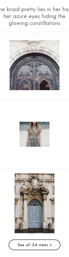 """She braid pretty lies in her hair, her azure eyes hiding the glowing constillations"" by firee-fliess ❤ liked on Polyvore featuring photo, pictures, buildings, people, pics, photos, flowers, backgrounds, instagram and clothes pictures"