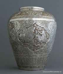 finely engraved work from isfahan