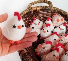 Amigurumi Örgü Oyuncak Modelleri – Amigurumi Örgü Oyuncak Tavuk Modeli Paylaşımı ( Anlatımlı ) – Örgü, Örgü Modelleri, Örgü Örnekleri, Derya Baykal Örgüleri Crochet Amigurumi Free Patterns, Crochet Dolls, Free Crochet, Crochet Chicken, Crochet Rabbit, Knitted Animals, Easter Crochet, Coq, Crochet Accessories