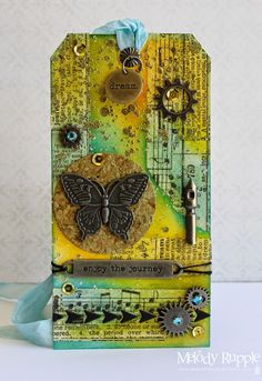Tim Holtz 12 Tags of 2015 March - Enjoy the Journey