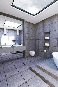 The frame house - bathroom