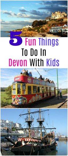Fun things to do with Devon with kids - - family friendly visitors attraction in Devon that will help you enjoy your holiday and learn about the area. These places to visit in Devon are fun for all the family Days Out With Kids, Family Days Out, Travel With Kids, Family Travel, Visit Devon, Family Friendly Holidays, Travel Inspiration, Travel Ideas, Travel Hacks