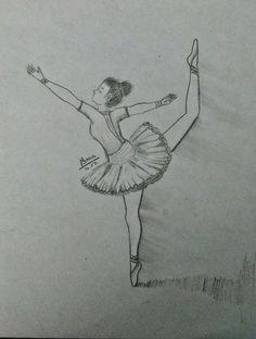 #drawing #Ballet #Ballerina #diy
