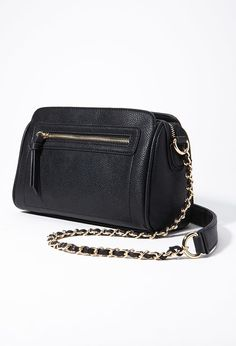 From Forever 21 Chained Faux Leather Crossbody New Arrivals Accessories Bags Wallets 1000167069