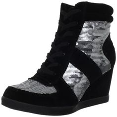 They're unusual, which I like. Wanted Shoes Women's Fulton Boot,Silver,6.5 M US Wanted,http://www.amazon.com/dp/B007VALNR6/ref=cm_sw_r_pi_dp_-KOjsb08DJP7S98Z