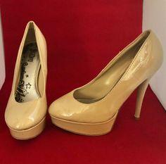 a7f6d78bc680 Brash tan platform heels size 8W  fashion  clothing  shoes  accessories   womensshoes  heels (ebay link)