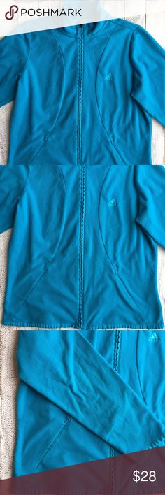 ONE HOUR 🎉ADIDAS CLIMAWARM FLEECE SWEATER Adidas climawarm Blue fleece sweater. Size Large. Good condition. adidas Sweaters