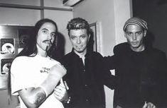 Johnny Depp and David Bowie - Johnny Depp Photo (29347437) - Fanpop