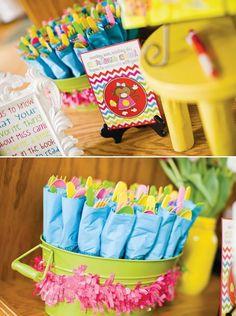luau party decorations Pinterest