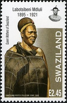 (Queen Mothers of Swaziland - Labotsibeni Mdluli African Royalty, African Tribes, Queen Mother, Warriors, Mothers, Stamps, Illustration Art, Mens Fashion, Fascinators
