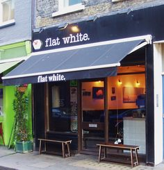 Flat White, Soho, London