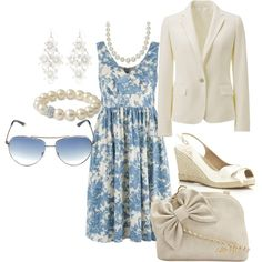 Summer Evenings, created by skpg on Polyvore
