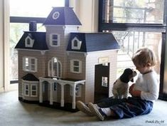Luxury Pet House by P&K Pethouse Designs - Doll House Style Dog ...