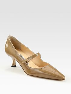 Been stalking this one for a while Manolo Blahnik Specari Mary Jane