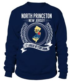 North Princeton, New Jersey Its Where My Story Begins T-Shirt #NorthPrinceton