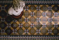Original Victorian hall tiles at the Cranley Hotel in South Kensington – Mr & Mrs Smith