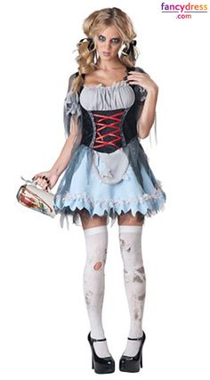 Give the spirits a hangover till next Halloween when you wear this Zombie Beer Maiden Adult Womenu0027s Costume. Serve up the drafts in this tattered lace-up ...  sc 1 st  Pinterest & Blue Butterfly Costume | Butterfly costume Blue butterfly and Costumes