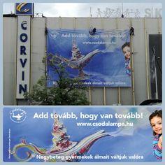 Wunderlampe  Csodalampa ist eine Stiftung in Ungarn.Das Ziel der Stiftung ist es, jedem Kind zwischen 3 und 18 Jahren, das an einer lebensbedrohlichen Krankheit leidet, einen Wunsch zu erfül… Leiden, Van, Hungary, Wish, Goal, Kids, Vans, Vans Outfit