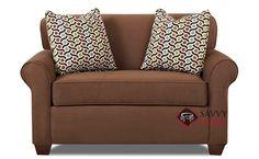 Calgary Chair Sleeper Sofa by Savvy at Savvy Home. $959.00