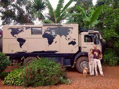 Overland Travel: Daniële & Mischa in Africa