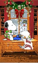 Snoopy is writing to Santa to ask him for some Christmas Joy♡♡ Christmas Scenes, Christmas Art, Christmas Greetings, Grinch Christmas, Peanuts Christmas, Charlie Brown Christmas, Peanuts Cartoon, Peanuts Snoopy, Animiertes Gif