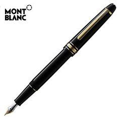 Mont Blanc fountain pen.