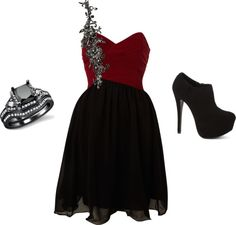 """""""A Dark Beauty"""" by queenkayla4th on Polyvore"""