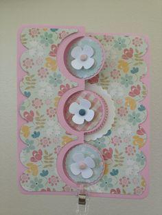 Sizzix Triple Circle Flip It Card die -