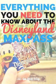 ALL NEW - Disneyland MaxPass