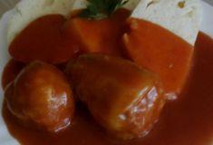 Starkiná plnená paprika Potatoes, Stuffed Peppers, Vegetables, Food, Potato, Stuffed Pepper, Essen, Vegetable Recipes, Meals