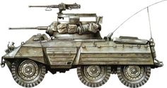 The tank of my dreams... The 1944 M8 Greyhound light tank... Just awesome