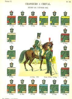 Lienhart & Humbert  Егеря. 1812 Uniformes de I'Armee Francaise 1690-1894