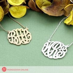 Sterling silver monogram pendant jewelry wedding events or occasions, this jewelry is truly a perfect choice. Monogram Necklace, Name Necklace, Monogram Online, Pendant Jewelry, Pendant Necklace, Tiffany T, Bracelets For Men, Solid Gold, Latest Styles