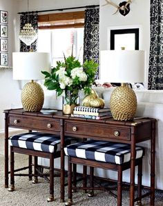 Neutral Dining Room Console Table // Honey Weu0027re Home   HONEY WEu0027RE HOME    Pinterest   Dining Room Console, Console Tables And Consoles