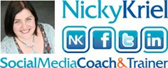 """Nicky Kriel, a Social Media Consultant, Speaker and Author of bestselling """"How to Twitter for Business Success,"""" shares easy to implement advice for business owners so they can feel comfortable engaging on social media platforms. <3"""