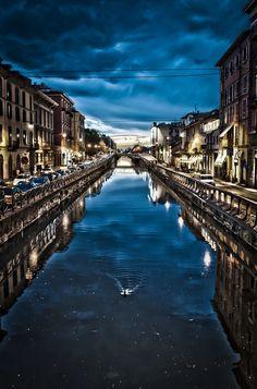 Milano - NAVIGLI by Mattia Nanni on 500px