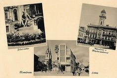 Komárom old postcard Vintage Postcards, Polaroid Film, Post Cards Vintage