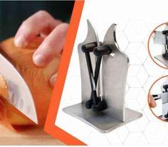 A konyha lelke egy éles kés. Persze mind az, amikor hozzád kerül, de a használat a mondás szerint nemcsak edzi a pengét, hanem csorbítja is.  Tele otthon a fiók késekkel, de egyik sem éles? Nem használ a hagyományos kés-élező, csak megeszi és tönkreteszi a pengét?  Megérkezett azEdge, az innovatív kés-élező, a két, egymástól függetlenül mozgó, aktív fenőkarral. Próbálja ki, és pillanatok alatt borotvaéles lehet minden kése!  Bármilyen formájú pengéhez illeszkedik Minion, Bookends, Home Decor, Decoration Home, Room Decor, Minions, Home Interior Design, Home Decoration, Interior Design