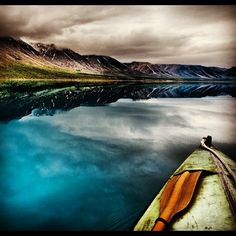 """Nothing like taking a boat out on Lake Clark in #Alaska. Truly 1 of the world's most beautiful spots."""