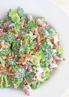 Broccoli Salad: The Joy of Clean Eating...if you like broccoli...you will like this!