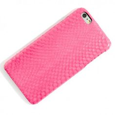 Bethge | Amazing iPhone 6 Plus Case made of pink snake.