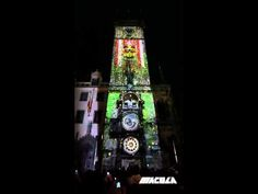 Incredible video by Macula  Mapping during 600 years anniversary of the astrological tower clock situated at Old Town Square in center of Prague.  Mapping by Macula, Lukáš Duběda, Michal Kotek.      hudba / music: data-live  foto & video/ photos & video: Michal Ureš  teaser audio: Hecq -Typhon
