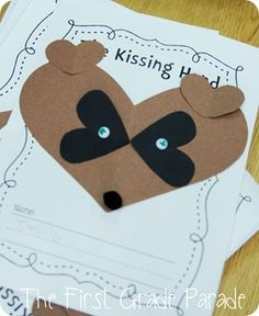 Uh Oh…Gues What Day It Is?!- Kissing Hand Craft
